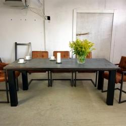 Stół bukowo-metalowy 173