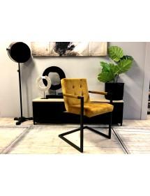 krzesło HARRISON tapicerka skórzana