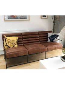 Sofa ROGER III tapicerka skórzana